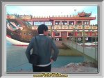 Kapal Wong Fei Ho di Golden Beach