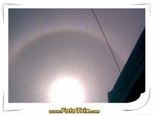 Fenomena Halo Matahari di Batam
