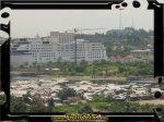Pacific Hotel terjepret dari Tanjung Uma