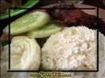 Ayam Bakar plus Nasi